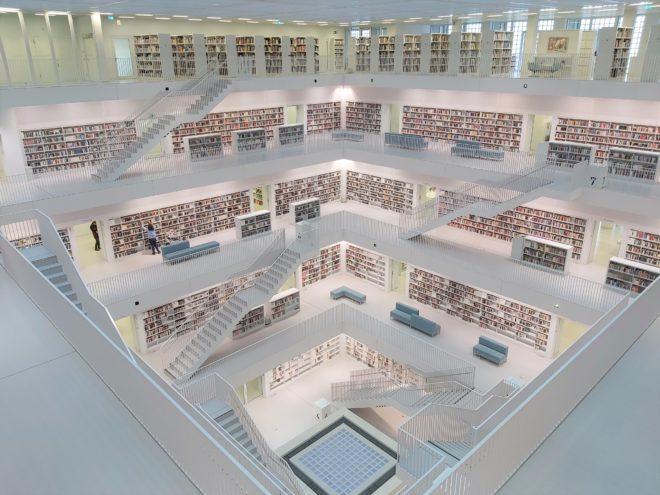 Stadtbibliothek Stuttgart - Entwurf von Architekt Eun Young Yi