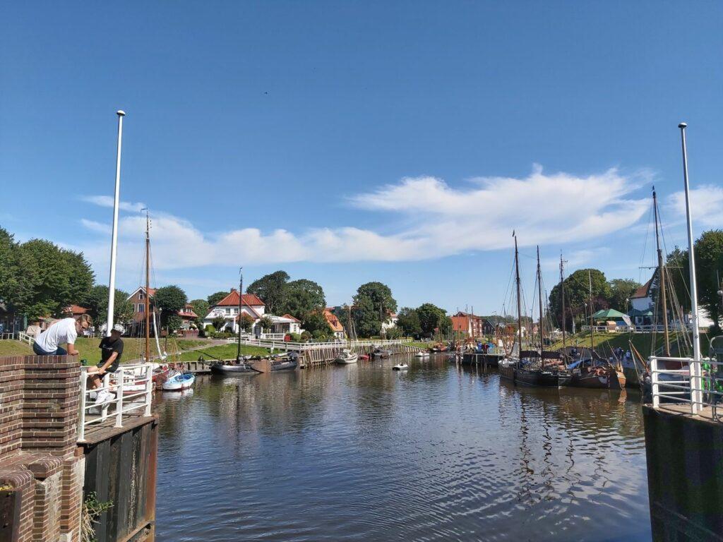 Der Museumshafen in Carolinensiel