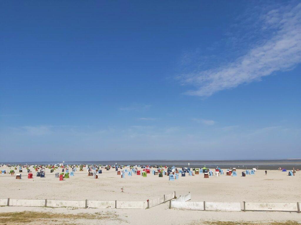 Blick auf´s Wattenmeer bei Neuharlingersiel