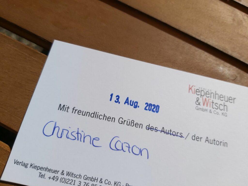 Post von Kiepenheuer & Witsch