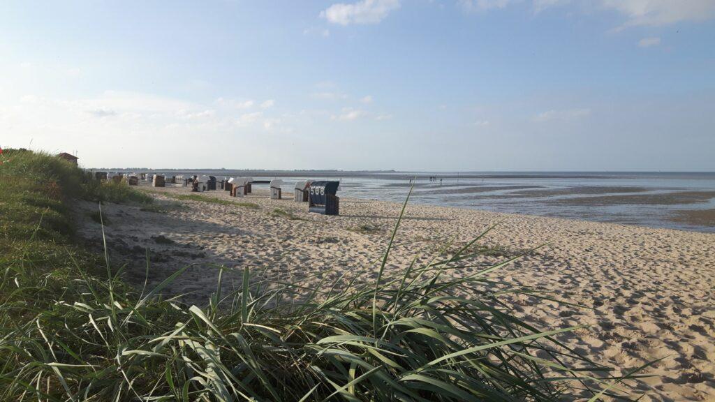 Am Strand von Hooksiel