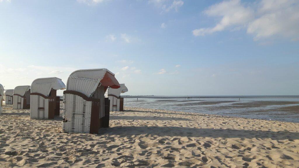 Was braucht der Mensch mehr als einen Strandkorb?
