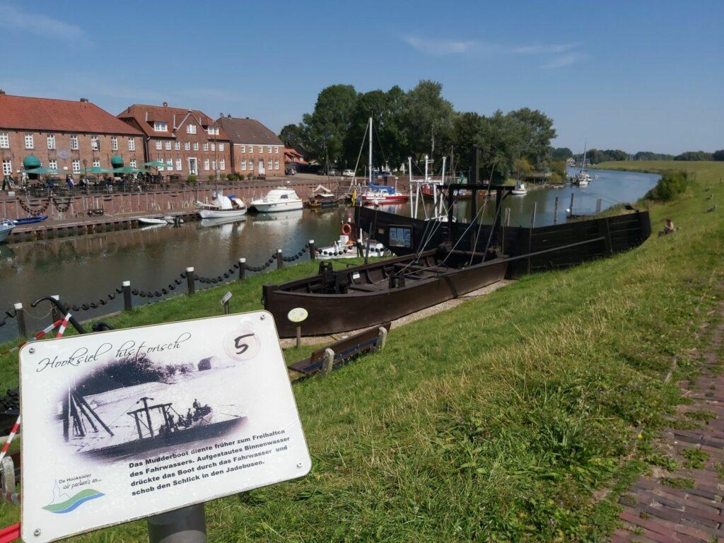 Hooksiel historisch: Mudderboot