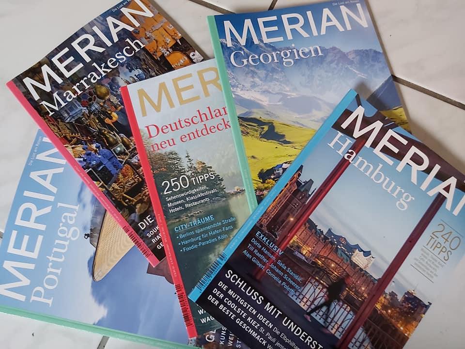 Merian-Hefte, Anfang 2020