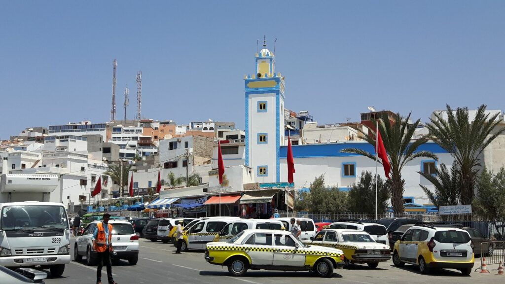 Taghazout-Zentrum