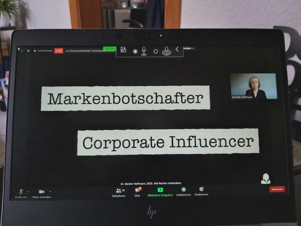 Kerstin Hoffmann: Markenbotschafter - Corporate Influencer