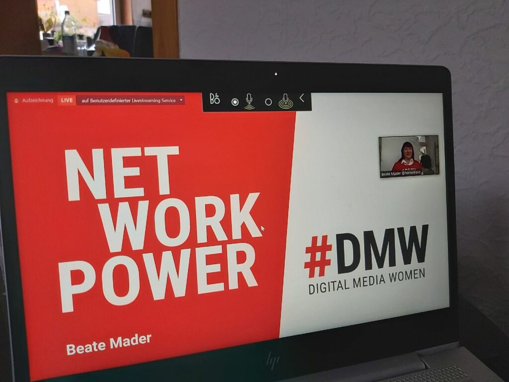 Beate Mader & Digital Media Women