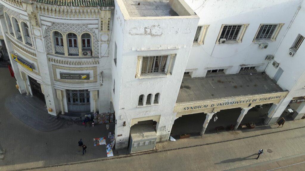 Das Syndicat d´Initiative et du Tourisme, am Boulevard Mohamed V
