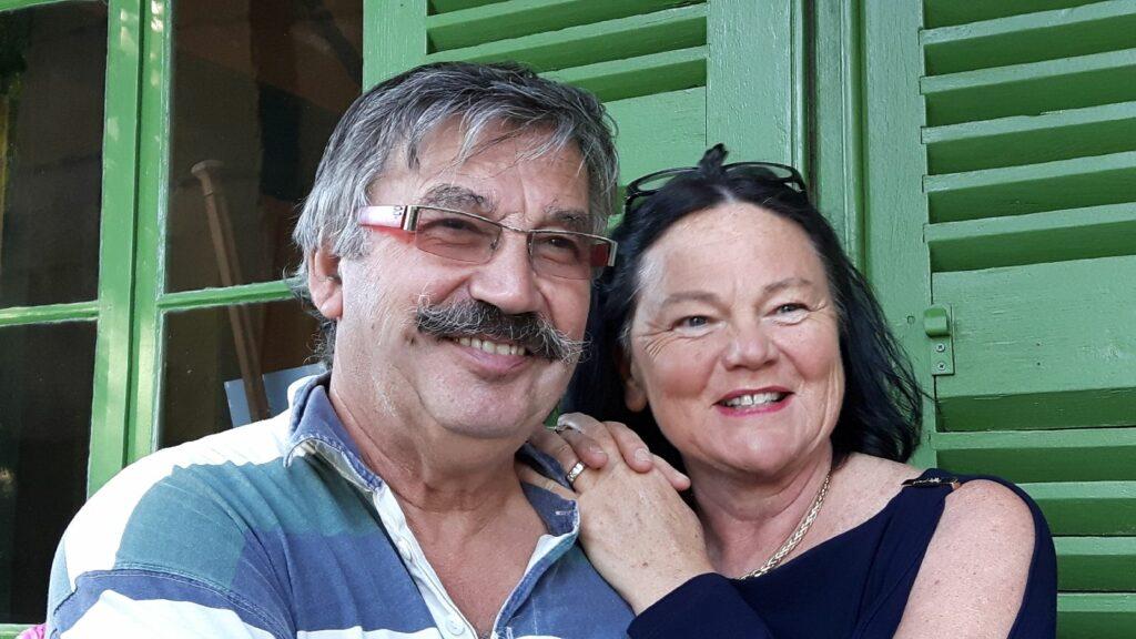 Plötzlich Schlossbesitzer: Claude und Brigitte