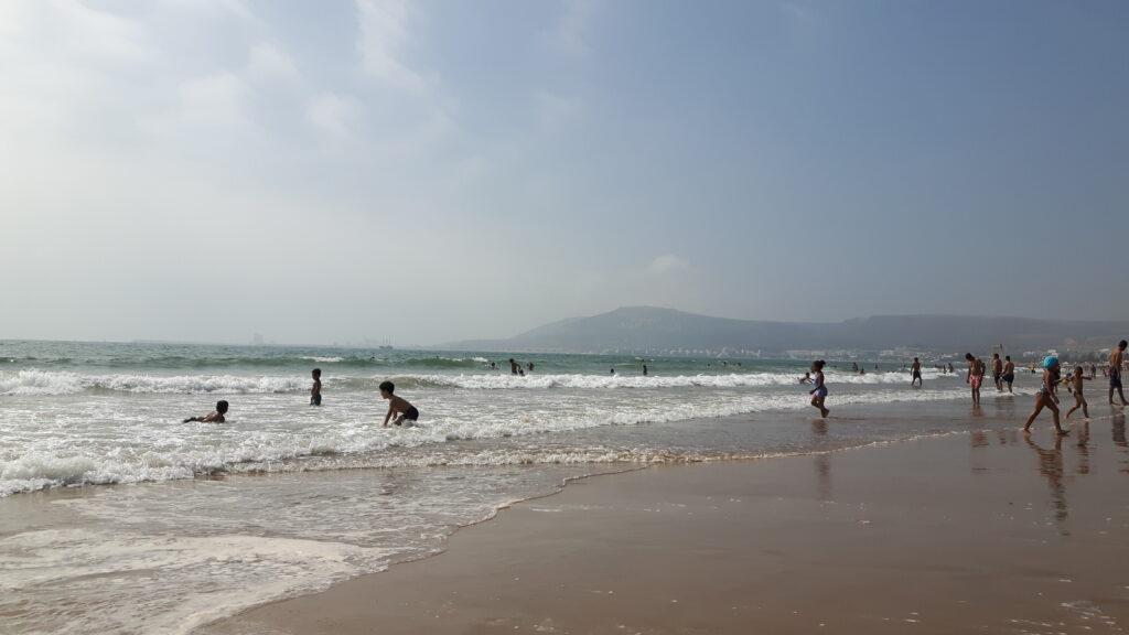 Der Atlantik bei Agadir